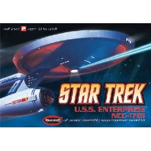 Star Trek USS Enterprise NCC1701 (Snap Kit) (Plastic Mod Toys & Games