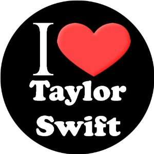 I Love Taylor Swift   1.25 Button Pin Pinback Everything