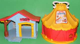 Weebles Circus + Disney Mickey Mouse Club House Woobles