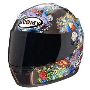 Suomy Vandal Tattoo Flash X Small Full Face Helmet Automotive