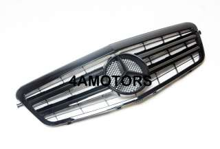 2010 W212 E350 E550 E63 GRILLE E CLASS FLAT BLACK