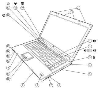 HP Business Notebook 6710b DUO CORE 1.8GHz/1.5GB/80GB HDD / CDRW/DVDRW