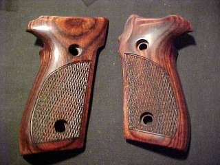 SIG SIGARMS P229 P228 229 228 Fine Checkered Rosewood Pistol Grips w