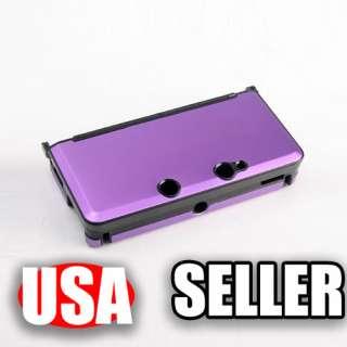 Aluminum Hard Metal Cover Box Case For Nintendo 3DS P