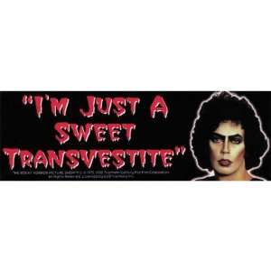 Rocky Horror Picture Show   Sweet Transvestite   Decal   Sticker