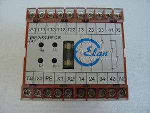 ELAN SRB NA R C.9/97 24V SAFETY RELAY SCHMERSAL
