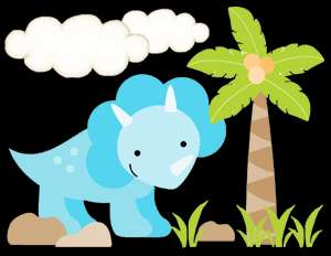 DINOSAUR DINO BABY BOY NURSERY WALL ART STICKERS DECALS