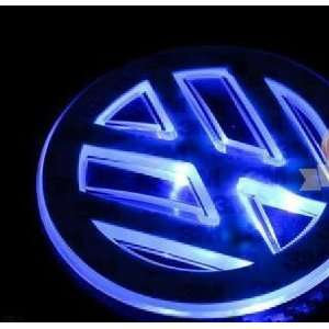 Auto led blue car logo light for Volkswagen Sagitar