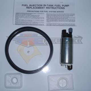 This brand new, GENUINE WALBRO 255LPH High Pressure in tankfuel pump