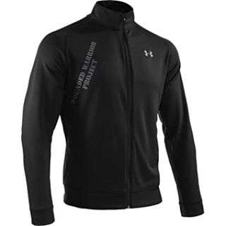 UNDER ARMOUR 1220615 WWP WOUNDED WARRIOR PROJECT CHARITY BLACK JACKET