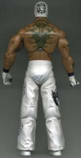 WWE Deluxe Aggression Rey Mysterio Loose Jakks Wrestling Figure TNA