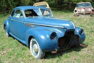 1940 Buick Roadmaster Coupe rat hot rod rare