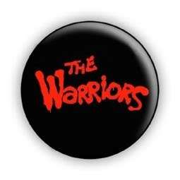 The Warriors Movie Logo 1 Inch Pin Button Badge