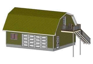 24 x 36 garage shop plans materials list blueprints for Garage plans 24 x 30