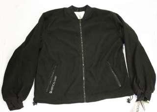 New Vertical Limit Mens Polar Fleece Jacket black zippered sweatshirt