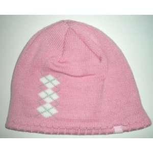 San Diego Chargers Reebok Womens Pink Argyle Beanie
