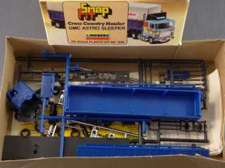 DTD   HO LOT   7 LINDBERG SNAP FIT GMC FORD TANKER HAULER TRUCK