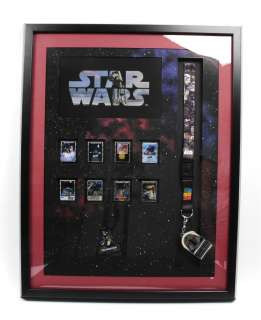Disney Star Wars Celebration V Pin Trading Frame Set