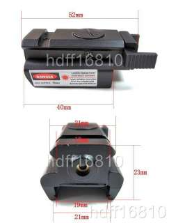 Tactical Low Profile Pistol Red Laser Sight Scope