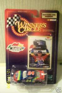 JEFF GORDON WINNERS CIRCLE DAYTONA 500 1/43 SCALE ! NEW