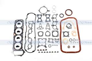 90 97 NISSAN D21 PICKUP 2.4L ENGINE REBUILD KIT KA24E