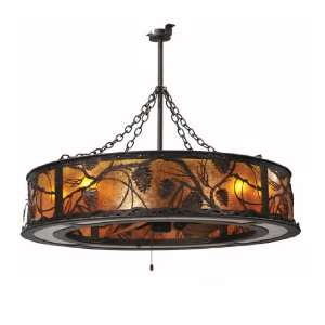 Meyda Tiffany 108443 Whispering Pines collection 44 Inch 8