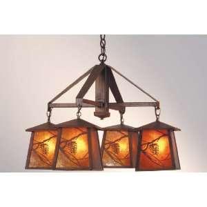 Meyda Tiffany Custom Lighting 19055 Whispering Pines 4