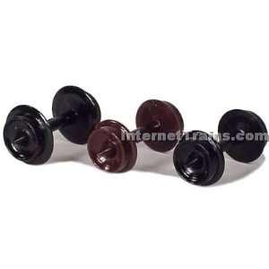 Micro Trains N Scale #1007 33 Black Wheel Sets   12 Axles