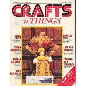 Crafts N Things October 1980 (6): varied, Lyle Clapper: Books