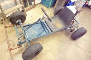 OFF ROAD GAS GO KART W/ HONDA GX160 5.5 HP ENGINE COMPLETE
