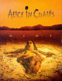 IN CHAINS Dirt classic vintage rock roll music glossy photo t shirt