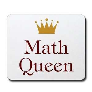Math Queen Education / occupations Mousepad by
