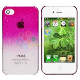 Pink Black Hybrid Cover For iPhone 4 4S 4GS Sprint Verizon AT&T