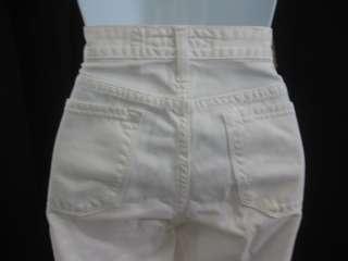BIG STAR White Denim Bootcut Jeans Pants Bottoms SZ 28R