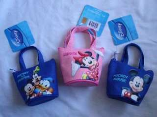 pcs Disney Mickey Minnie Mouse Mini Hand Bag Purse $