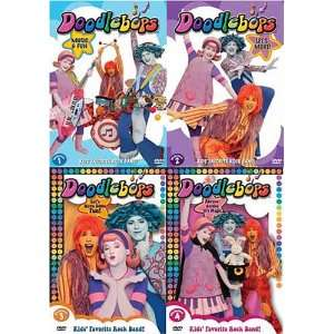 Doodlebops (4 PacK) Vol: 1  4 Music And Fun / Lets Move