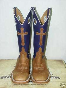 Anderson Bean Horsepower cowboy boots NEW HP1027 cross