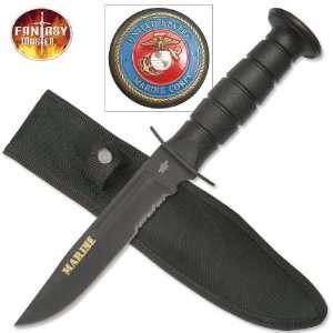 Marine Combat Knife FM496: Sports & Outdoors