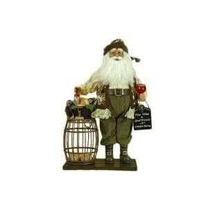 Karen Didion Wine Cork Santa