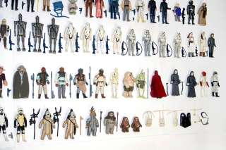 359 Vintage Star Wars Action Figures Huge Lot weapons accessories