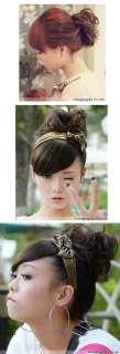 Fashion Cute Bridal Hair Styling Wig Hair For Lady Girl