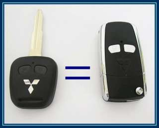 Folding FOB KEY REMOTE CASE SHELL MITSUBISHI LANCER EVO