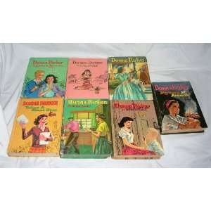 Donna Parker 7 Book Set Marcia Martin Books