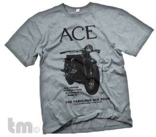 Vintage ACE Four MOTORCYCLE Classic 1920s bike T Shirt