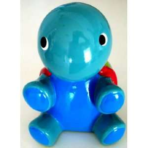 Ceramic Turtle Coin Money Bank, Blue
