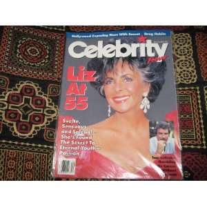 Celebrity Focus Magazine (LIz Taylor at 55 , Tom Selleck , Hollywood