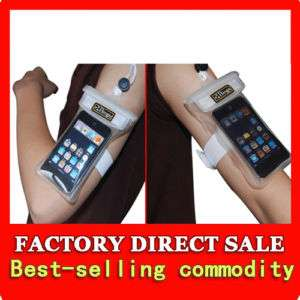 Waterproof Case Pouch iphone 3G Phone Cellphone Armband