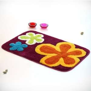 Violet Red] Kids Room Rugs (19.7 by 31.5 inches) Furniture & Decor