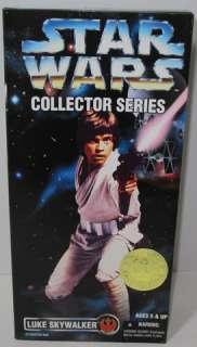 1996 STAR WARS Collector Series 12 LUKE SKYWALKER ACTION FIGURE Doll