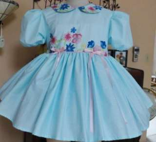 Adult Sissy Baby Dress Spring Time by Annemarie